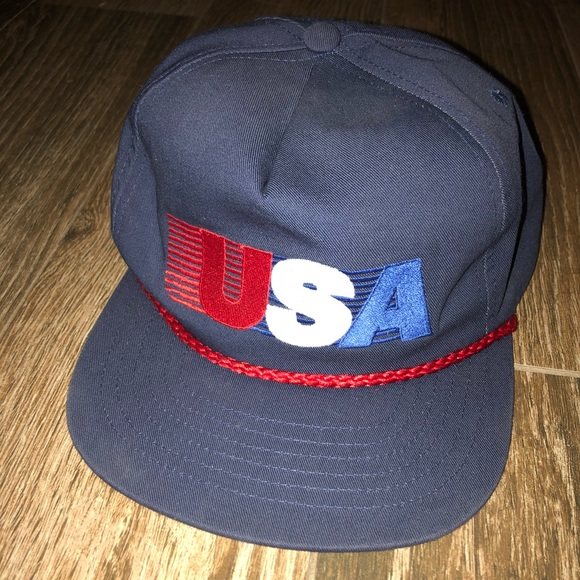 Campus Retro Other - USA SnapBack Rope Hat 347df71e9897